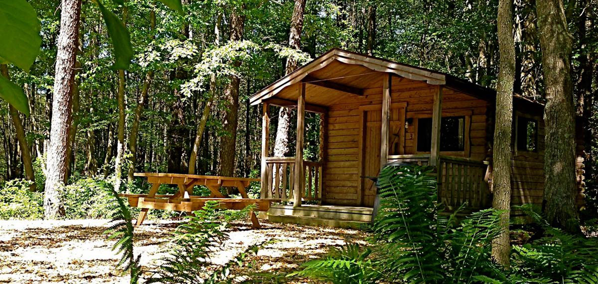 Delightful Our Cabins Are Located In A Beautiful Secluded Section In Our Campground  Adjacent To Lake Wren. Each Cabin Includes Air Conditioning, A Double Bed  And A Set ...